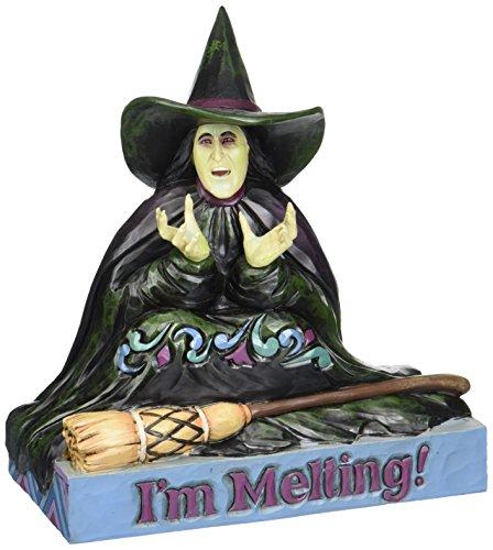 Figura decorativa de bruja el mago de Oz.