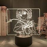 Hunter X Hunter 3d Anime lampes enfants chambre décor veilleuse lampe, avec capteur de mouvement LED veilleuse lampe de Table