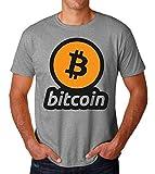 KRISSY Bitcoin Crypto Currency Logo Men's T-Shirt Maglietta