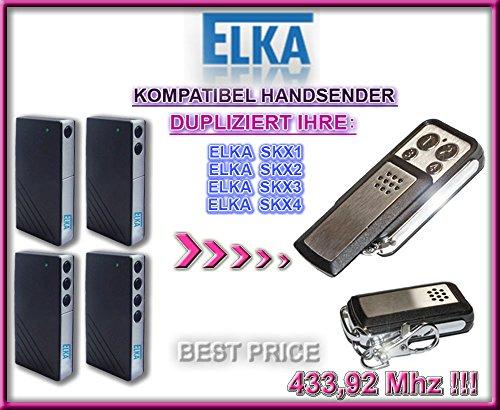 ELKA SKX1, SKX2, SKX4 kompatibel handsender, klone fernbedienung, 4-kanal 433,92Mhz fixed code. Top Qualität Kopiergerät!!!