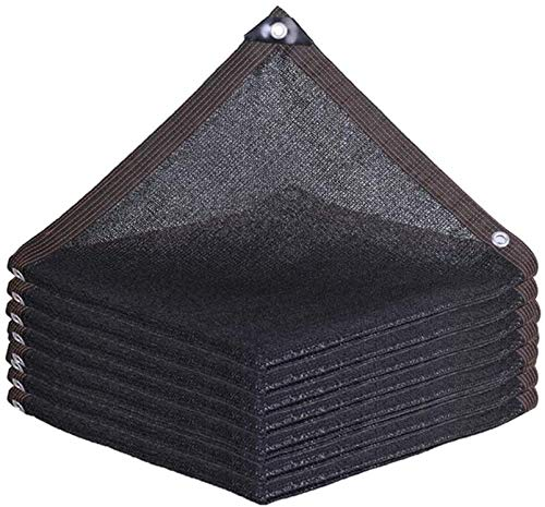 SOAR Sunblock Shade Cloth Net Shade Netting Sun Mesh Sunblock Black,Shade Cloth 85%,Uv Resistant Net,Hemming,for Garden Cover Flowers Plants Patio Lawn,Customizable Size (Size : 5x8M16.4x26.2ft)