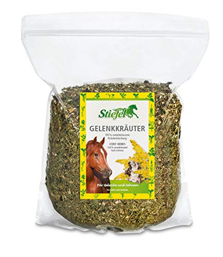 Equestrian Amesbichler boots joint herbs 1 kg bag of horses for tendon and joint problems, improvement of joint lubrication, strengthening of cartilage tissue