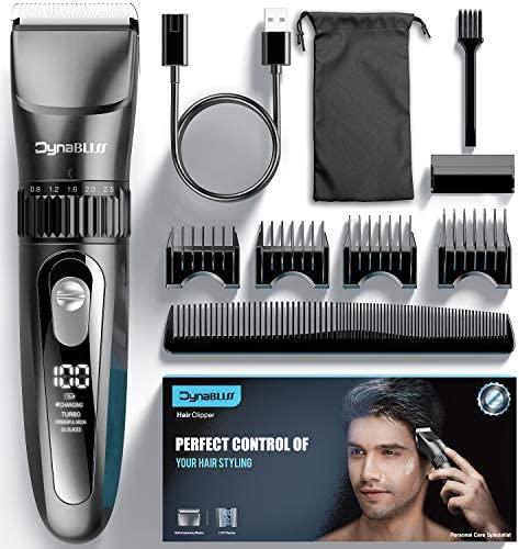 Hair Clippers for Men Professional DynaBliss HG4200 Cordless Clippers for Hair Cutting kit Electric product image