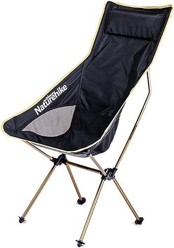 NIUZIMU Plein air Portable Chaise Pliante Ultra légère Camping Chaise de Plage Audacieux en Aluminium épais pêche Chaise Tabouret Peinture Tabouret Retour Chaise Croquis