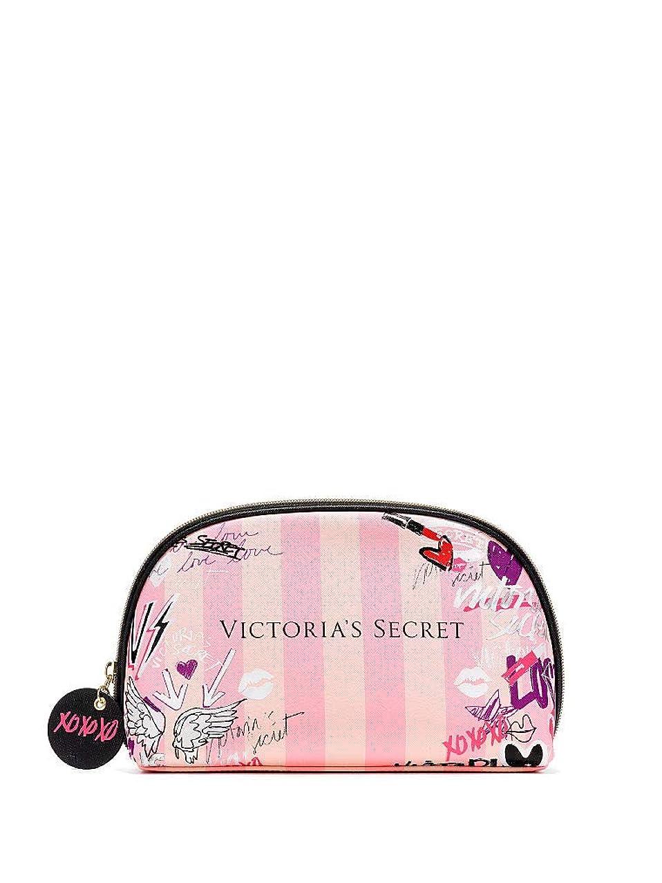 ジム交換可能枕【 メイクアップバッグ 】 VICTORIA'S SECRET ヴィクトリアシークレット/ビクトリアシークレット グラフィティグラムバッグ/Graffiti Glam Bag [並行輸入品]