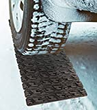 TARKII Tire Traction Mat, Single 31.4 Inch Portable Emergency Caterpillar Band to Get Your Vehicles Unstuck in Snow, Mud and Sand