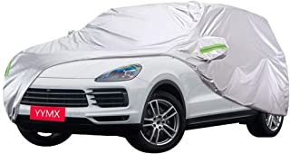 Autoabdeckung Kompatibel mit Porsche Cayenne Car Cover Car Persenning Sonnenschutz Regenschutz staubdicht Frost Wärmedämmung Anti UV verdicken Oxford Cloth volle Auto Abdeckung