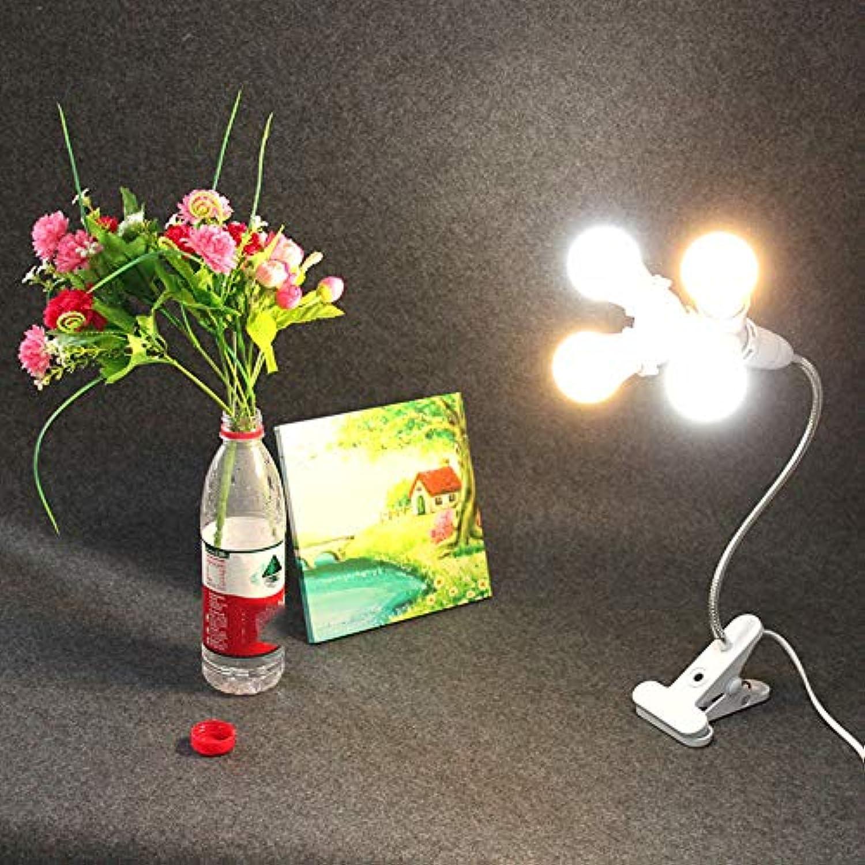 GOGOXIAN Led Schreibtisch Licht Schwanenhals Flexibler SchlauchAugenschutzTischlampe Leselampe Nachttischlampe Leselampe Für OfficeGold 2 Wei 2 Warm