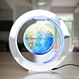 Globo, Globo de levitación magnética Rotación de 8 Pulgadas Regalo Creativo Espectáculo en Maceta Luz de Luna Regalo de cumpleaños para decoración en la Oficina y el hogar para niños Regalo OD