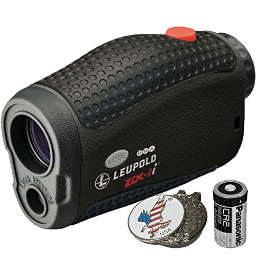 Leupold Golf Laser Rangefinder PinCaddie 2, Gift Pack, Packed and Ready