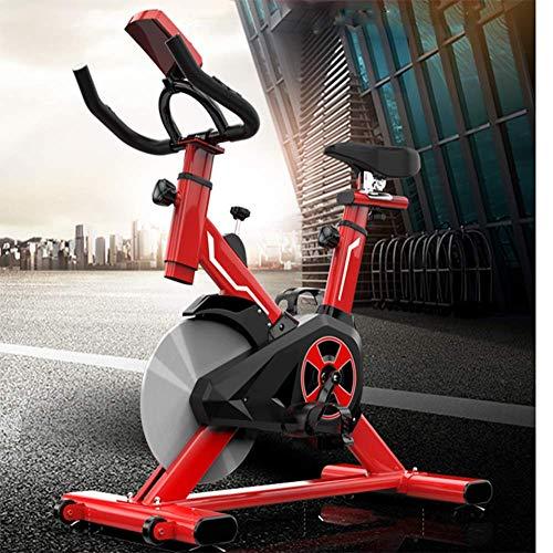Nologo QZJR-Heimspinnräder Heimtrainer Fahrrad Indoor Cycle Bike Gesundes und Stilvolles Fitnessgerät Zur Gewichtsreduktion