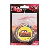 Dekora 339251 Caissettes Cupcakes avec Design Disney Pixar Cars Flash Mcqueen-50 Unités