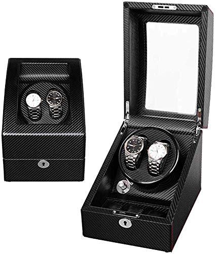 bxbx Automatische Uhrenbeweger Box, Uhren Rotation Aufbewahrungskoffer Uhr Turner Holzlager Box Antimagnetic Mute Uhrenbeweger