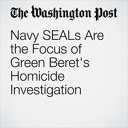 Navy SEALs Are the Focus of Green Beret's Homicide Investigation copertina
