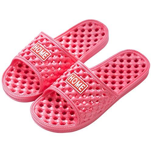 Chaussures Plage Piscine Slide Sandales,Pantoufles Salle Bain Pearl,Sandales à Fond Mou Qui fuient Massage intérieur,Sandales Anti-dérapantes Bain,Mixte Adulte Sandal Chaussures Sandales