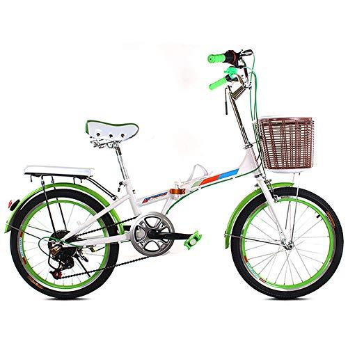 20 Pulgadas De Bicicletas Plegable, Ideal Para Montar A Caballo Urbana
