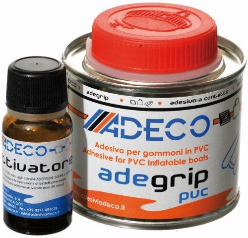 Adeco Adegrip rubberboot lijm 2-componenten voor PVC 135 g