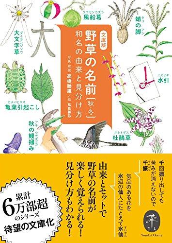 ヤマケイ文庫 野草の名前 秋冬の詳細を見る