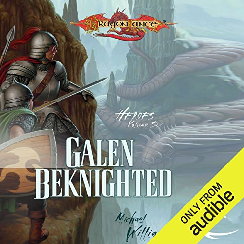 Galen Beknighted audiobook cover art