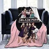 GUYLIGUYQI Kpop Blanket Soft Down Blanket Anti-Pilling, Anti-Shrink Blanket Full-Width Single-Sided Printing Blanket in 50'x40'