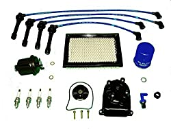 automotive engine tune up parts kit honda civic lx dx cx 1 6l 1996-2000   this kit includes: engine oil filter with new drain plug washer, engine air  filter,
