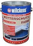Wilckens Wetterschutzfarbe, RAL 9010 reinweiß, 2,5 Liter 11191000080