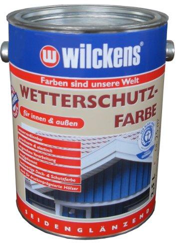 Wilckens Wetterschutzfarbe, RAL 6005 moosgrün, 2,5 Liter 11160500080