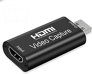【2021年最新版】Wunancloa HDMIキャプチャカード HDMI キャプチャーボード USB2.0 1080P 30Hz HDMI ゲームキャプチャー・ ビデオキャプチャカード ゲーム実況生配信・画面共有・録画・医用撮像・ライブ会議に...