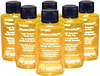 Tracer Products TP3820-0601 Bottled Oil Dye for R134A/PAG - 1 oz, (Pack of 6)