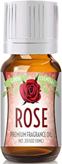 Rose Scented Oil by Good Essential (Premium Grade Fragrance Oil) - Perfect for Aromatherapy, Soaps, Candles, Slime, Lotion...
