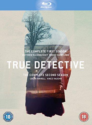 True Detective: The Complete First And Second Season (6 Blu-Ray) [Edizione: Regno Unito] [Reino Unido] [Blu-ray]