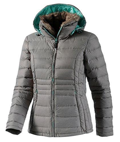 White Season Damen Bekleidung Jacke, Grau, 38