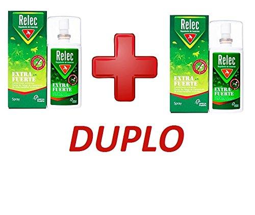 2 X Relec Extra Fuerte Spray Antimosquitos - 75 ml DUPLO