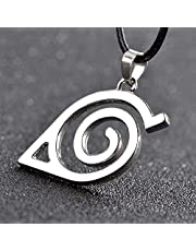 Anime and film peripherals Cross-border hot sale explosions Naruto logo alloy necklace pendants