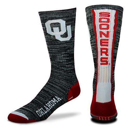 For Bare Feet NCAA Herren Team Vortex RMC Crew Socken, Größe M & L