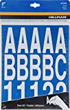 The Hillman Group 847008 Die-Cut Letters/Numbers Kit, White, 2-Inch