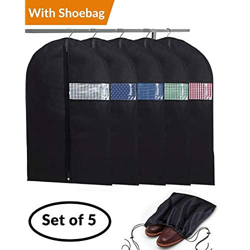 Home Clothes Storage Bag Dust Cover Bags Protector Covers Supplies New LA