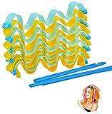 Bigodini per capelli lunghi magici Curl Former Rulli a spirale Strumento per lo styling Ru...