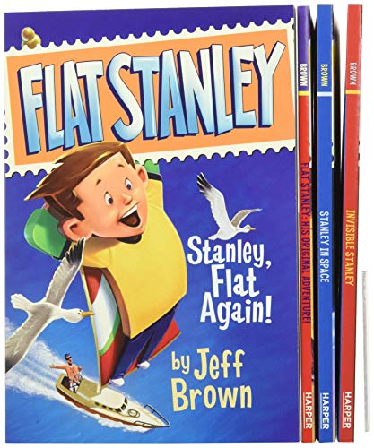 The Flat Stanley Collection: Flat Stanley/Invisible Stanley/Stanley in Space/Stanley, Flat Again!: Flat Stanley, Invisible Stanley, Stanley in Space, and Stanley, Flat Again!