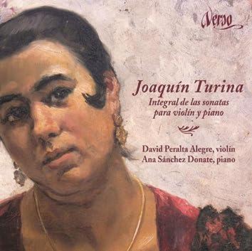 Joaquín Turina: Integral de las sonatas para violín y piano.
