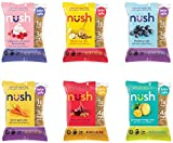 Keto Snack Cakes by Nush - Mixed Flavor Case (6 Cakes) - Made from Flax, Gluten-Free, Grain Free, Paleo, Diabetic Friendly, Low Carb Snack, Healthy, Low Sugar, Low Net Carb, Naturally Sweetened, Low Glycemic