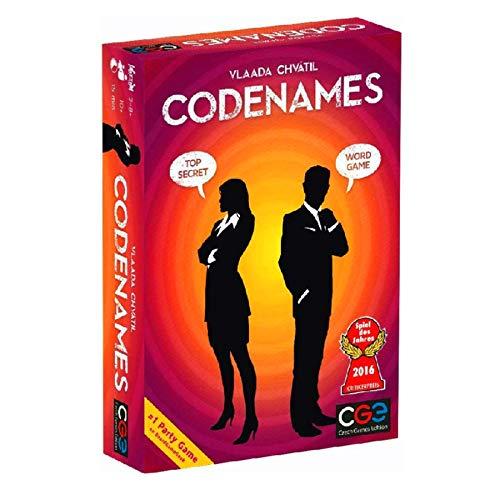 DUXIUYING Codename, Brettspiel mit sozialem Abzug, Partyspiel, Spymaster Undercover, Familienbrettspiel, Spieleabend für ErwachseneEnglische Vollversion