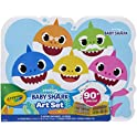 90-Pieces Crayola Baby Shark Art Set