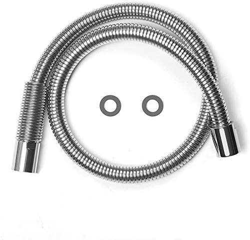 IMLEZON Stainless Steel Hose for All Commercial Kitchen Sink Faucets Flexible Hose Replacement (38 inch)