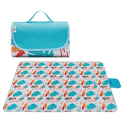 Rubeyul Coperta da picnic, campeggio, impermeabile, per picnic, picnic, campeggio, campeggio, campeggio, 200 x 145 cm