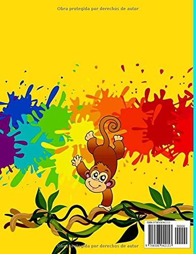 Conecta Los Puntos y Colorea 120 Imágenes Divertidas y Educativas Punto-a- Punto para Niños de 6 a 12 años: Juegos de…