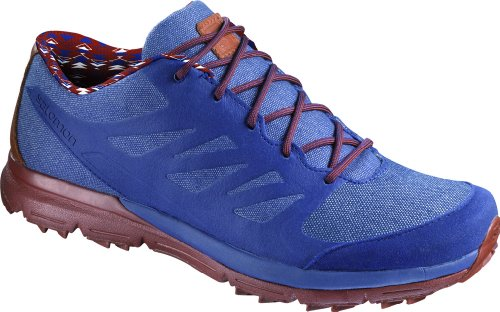 Salomon Sense Thematic Chaussures d'extérieur pour homme - - Lake Lake Deep Red, 8.5