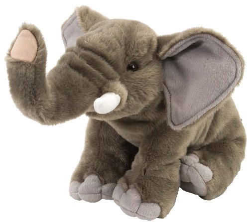 WILDREPUBLIC- Wild Republic Elefante Peluches, Color Adulto (0092389114980)