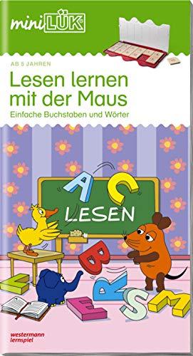 miniLÜK-Übungshefte / Vorschule: miniLÜK: Lesen lernen mit der Maus: Einfache Buchstaben und Wörter für Vorschulkinder