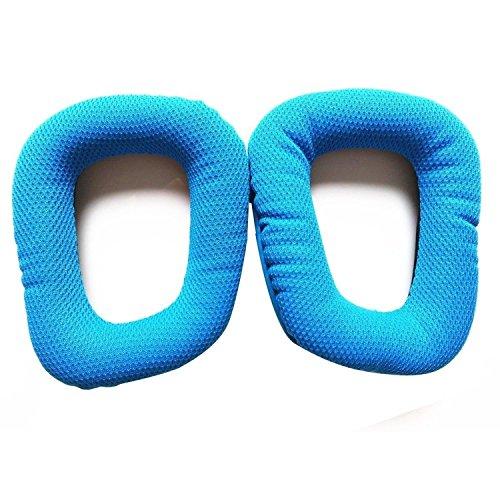 Namvo Almohadillas de Repuesto para Auriculares para Auriculares Logitech G35 G930 G430 F450 - Azul